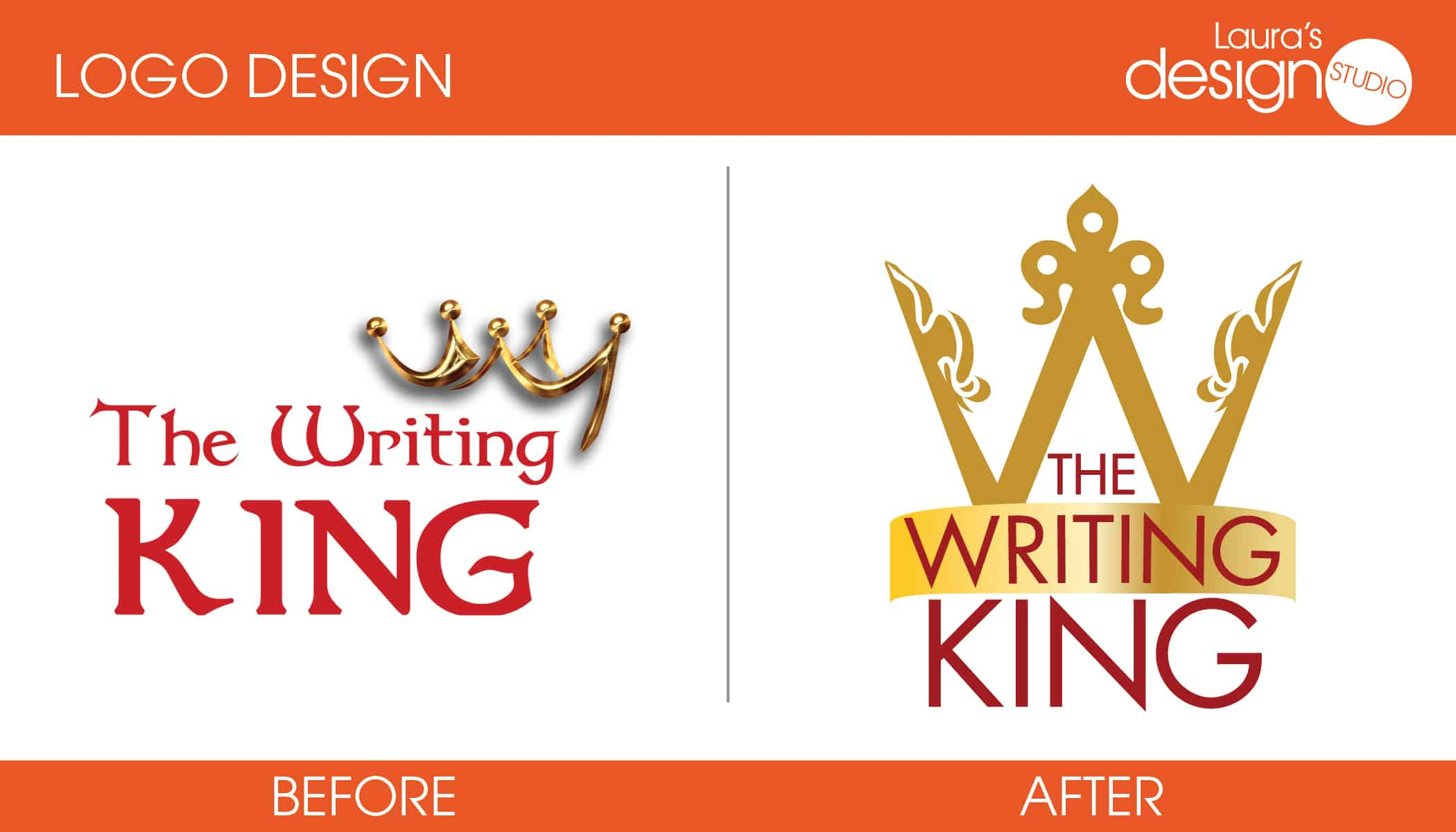 TheWritingKing-Before-After-Logo