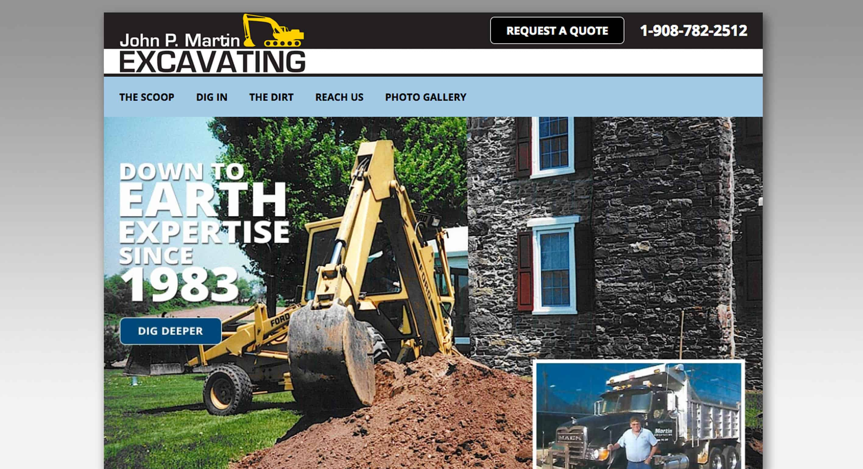 John P. Martin Excavating