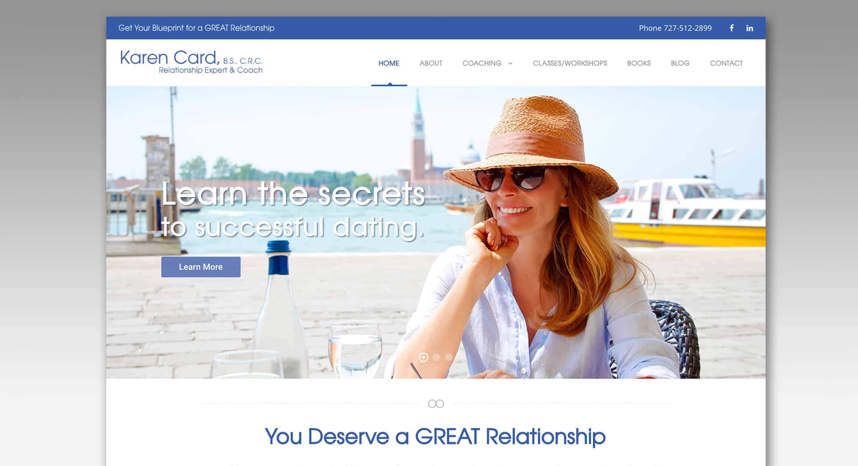 Karen Card, Relationship Expert & Coach