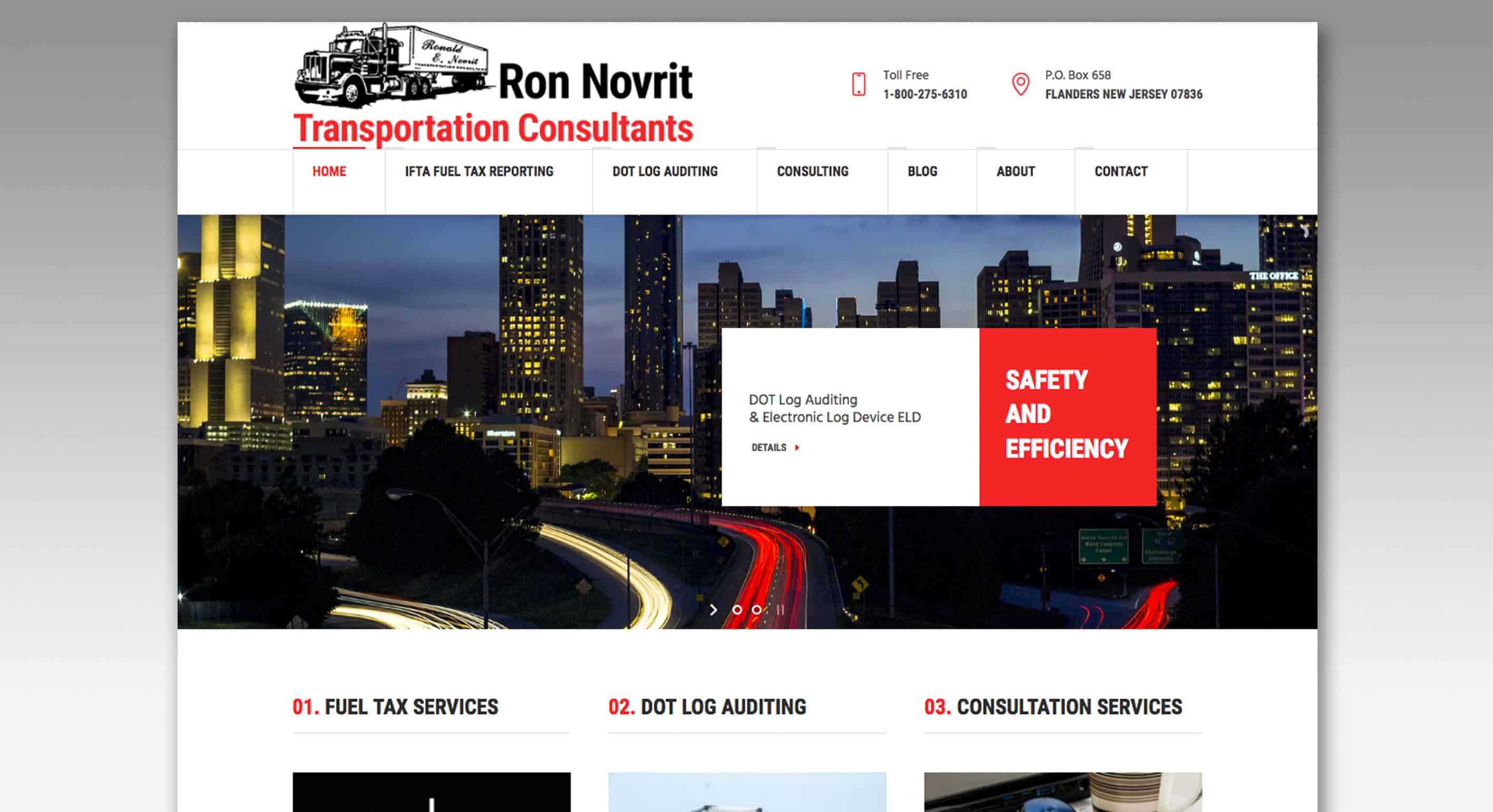Ron Novrit Transportation Consultants