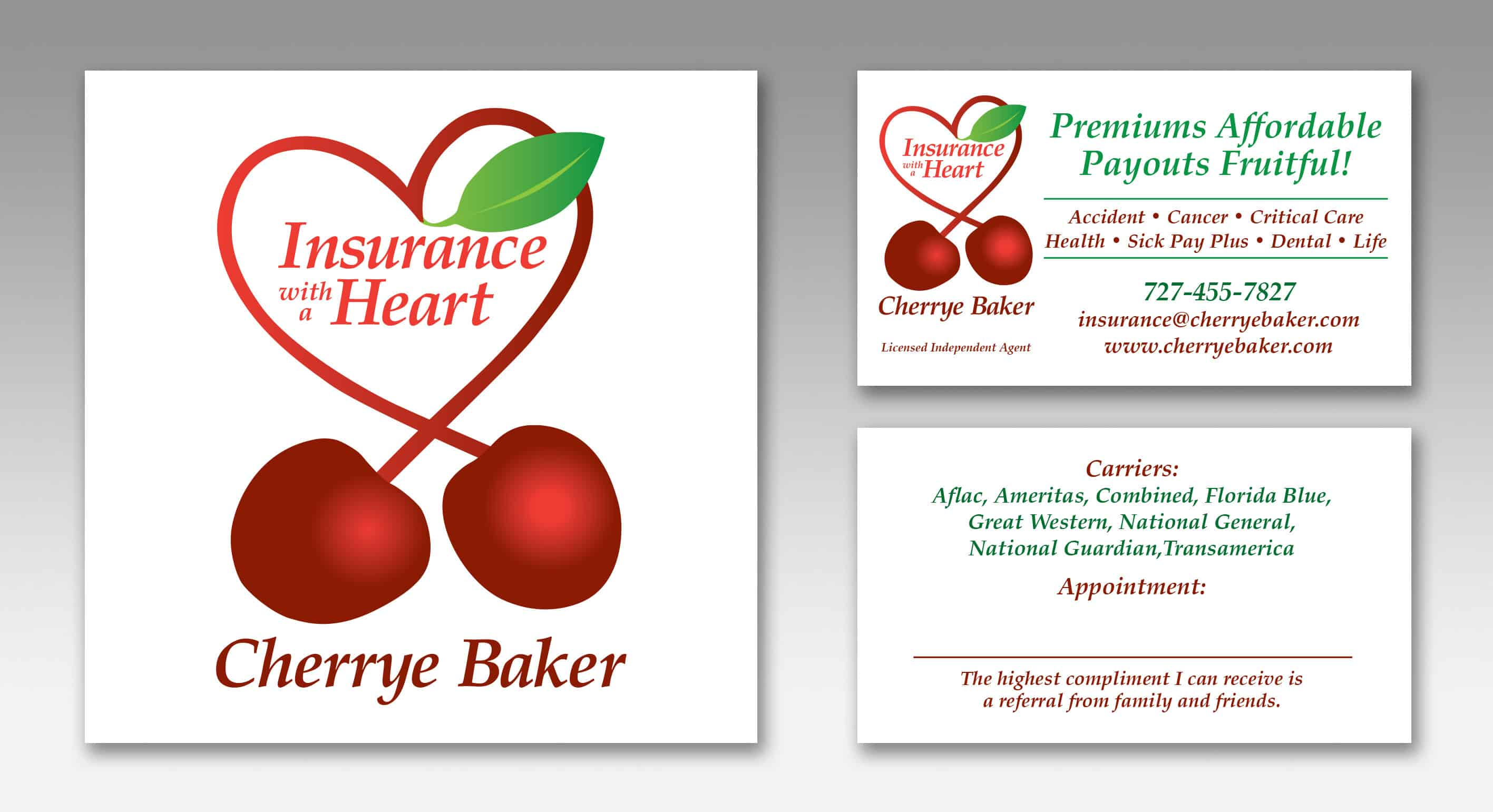 Cherrye Baker, Insurance with a Heart